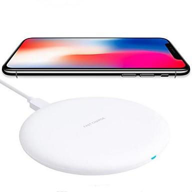 Недорогие Зарядные устройства для телефонов-10w быстрое беспроводное зарядное устройство для iphone xs iphone xr xs max iphone 8 samsung s9 plus s8 примечание 8 или встроенный qi приемник смартфон