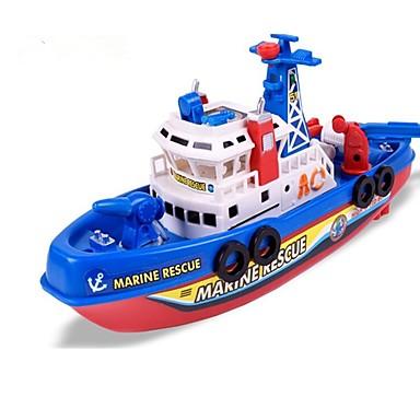 لعبة قوارب قارب الشاطئBeach Theme ألعاب مضيئة لمبات LED تعمل بالصوت الغناء ABS للأطفال صبيان فتيات ألعاب هدية 1 pcs