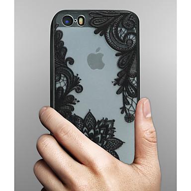 케이스 제품 Apple iPhone X iPhone 8 아이폰5케이스 iPhone 6 iPhone 6 Plus 투명 패턴 뒷면 커버 레이스 인쇄 하드 PC 용 iPhone X iPhone 8 Plus iPhone 8 iPhone 7 Plus