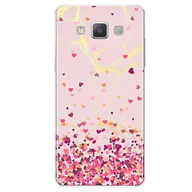 voordelige Galaxy A-serie hoesjes / covers-hoesje Voor Samsung Galaxy A5 (2017) / A7 (2017) / A7(2016) Patroon Achterkant Tegel / Hart / Marmer Zacht TPU