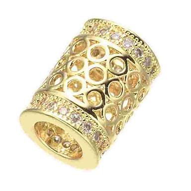 b1930112a رخيصةأون الخرز-دي مجوهرات 1 جهاز كمبيوتر شخصى خرز تقليد الماس سبيكة ذهبي  فضي ذهبي