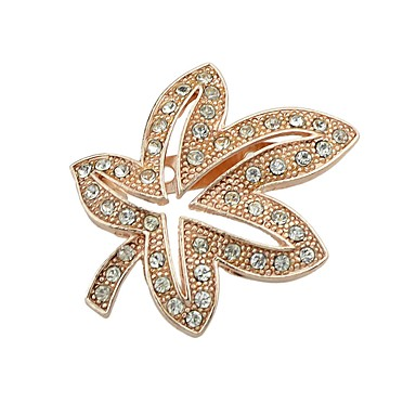 Women's Brooches - Leaf Simple, Fashion Brooch Gold / Silver For Daily / Going out