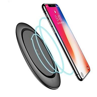 billige Elektrisk udstyr og materiale-qi trådløs oplader med kabel til iphone x xs max xr 8 plus hurtig opladning til samsung s8 s9 s10 plus note 9 8 usb telefon oplader pad