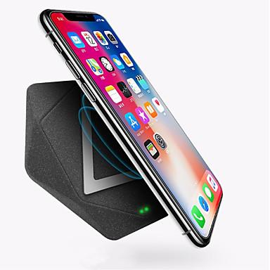 billige Waza-WAZA USB oplader USB Trådløs Oplader Ikke understøttet 1 A / 1.5 A DC 9V / DC 5V for iPhone X / iPhone 8 Plus / iPhone 8