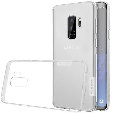 Недорогие Чехлы и кейсы для Galaxy S-Кейс для Назначение SSamsung Galaxy S9 / S9 Plus / S8 Plus Ультратонкий / Прозрачный Кейс на заднюю панель Однотонный Мягкий ТПУ