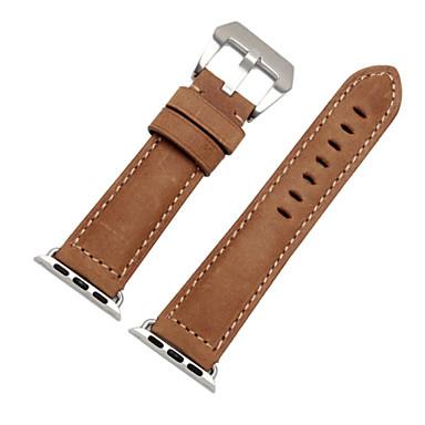 voordelige Smartwatch-accessoires-Horlogeband voor Apple Watch Series 4/3/2/1 Apple Moderne gesp Echt leer Polsband