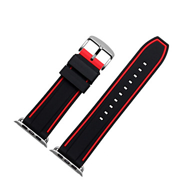 cheap Apple Watch Bands-Watch Band for Apple Watch Series 4/3/2/1 Apple Sport Band / Modern Buckle Silicone Wrist Strap