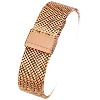 Недорогие Ремешки для Apple Watch-Ремешок для часов для Huawei Watch Apple Миланский ремешок Стали Повязка на запястье