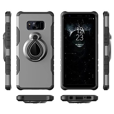 Case For Samsung Galaxy S9 Plus / S9 Shockproof / Ring Holder Back Cover Armor Soft TPU for S9 / S9 Plus / S8 Plus