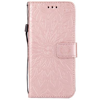 Недорогие Чехлы и кейсы для Galaxy S4 Mini-Кейс для Назначение SSamsung Galaxy S9 / S9 Plus / S8 Plus Кошелек / Бумажник для карт / со стендом Чехол Мандала Твердый Кожа PU