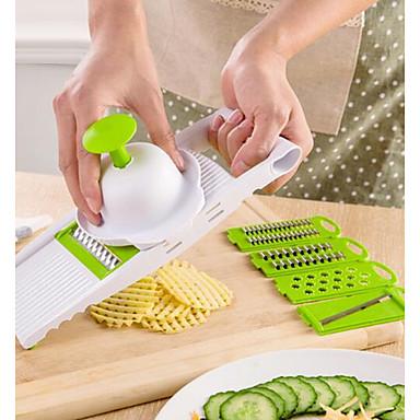 1pc Køkken Tools Plastik Multi-funktion Skæreredskab For frugt / til grønsager