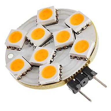 SENCART 1pc 1.5 W Luces LED de Doble Pin 270 lm G4 T 9 Cuentas LED SMD 5050 Decorativa Blanco Cálido 12 V