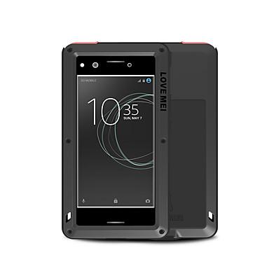 voordelige Hoesjes / covers voor Sony-hoesje Voor Sony Sony Xperia XZ Premium Water / Dirt / Shock Proof Volledig hoesje Effen Hard Metaal