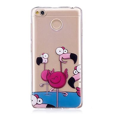 a9422d084 Funda Para Xiaomi Redmi 4X IMD / Diseños Funda Trasera Flamenco Suave TPU  para Xiaomi Redmi