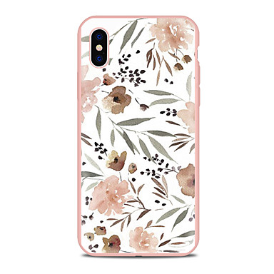 Coque Pour Apple iPhone X / iPhone 8 Plus Motif Coque Fleur Flexible TPU pour iPhone XS / iPhone XR / iPhone XS Max