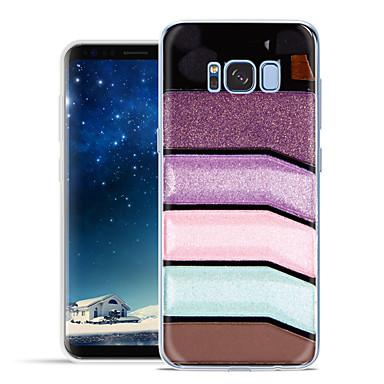 voordelige Galaxy S6 Hoesjes / covers-hoesje Voor Samsung Galaxy S8 Plus / S8 / S7 edge Patroon Achterkant Cartoon Zacht TPU