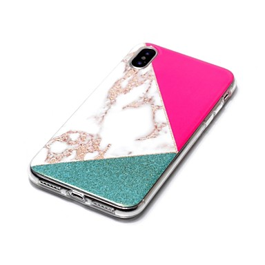Custodia X Plus marmo IMD Apple Morbido Effetto iPhone iPhone TPU per 06593280 disegno 8 Fantasia Per X retro Glitterato 8 iPhone iPhone Per tqx1r76Ytw