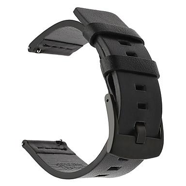 abordables Correas para Huawei-Ver Banda para Gear S3 Frontier / Gear S3 Classic Samsung Galaxy / Huawei Hebilla Clásica Piel Correa de Muñeca