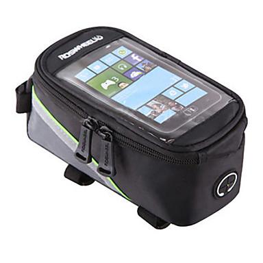 ROSWHEEL Marsupio triangolare da telaio bici Bag Cell Phone 4.2/5.5/6.2 pollice Ompermeabile Indossabile Telefono/Iphone Schermo touch