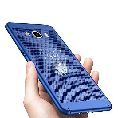 voordelige Galaxy J-serie hoesjes / covers-hoesje Voor Samsung Galaxy J7 (2017) / J7 (2016) / J7 Ultradun Achterkant Effen Hard Muovi