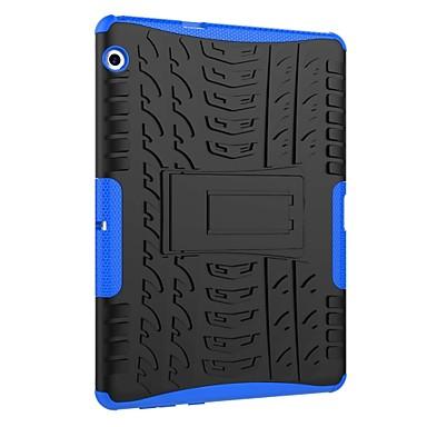 billige Etuier/covers til Huawei-Etui Til Huawei MediaPad T3 10(AGS-W09, AGS-L09, AGS-L03) Stødsikker / Med stativ / Rustning Bagcover Flise / Rustning Hårdt PC for Huawei MediaPad T3 10(AGS-W09, AGS-L09, AGS-L03)