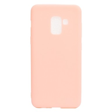 [$2.99] Case For Samsung Galaxy A8 2018 A8 Plus 2018 Frosted Back Cover Solid Colored Soft TPU for A5(2018) A7(2018) A3(2017) A5(2017) A7(2017)