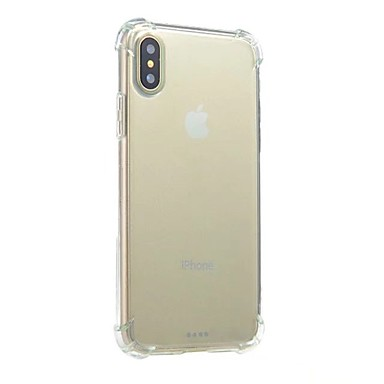 unita retro X trasparente Morbido 8 8 Apple Tinta Resistente iPhone iPhone Plus TPU 06643999 X corpo urti Per iPhone Per agli per iPhone Custodia qA7F6F