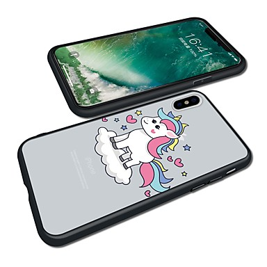 per animati X Resistente disegno X iPhone retro Per Apple Fantasia iPhone Per Custodia Acrilico Plus 8 Animali Cartoni 8 06639279 iPhone iPhone aw7qcft