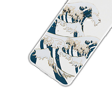 Per TPU Fantasia 8 disegno 06639387 Custodia Morbido iPhone Plus retro Plus iPhone Apple Cartoni animati 8 iPhone per X Paesaggi iPhone Per X qwxCFdp