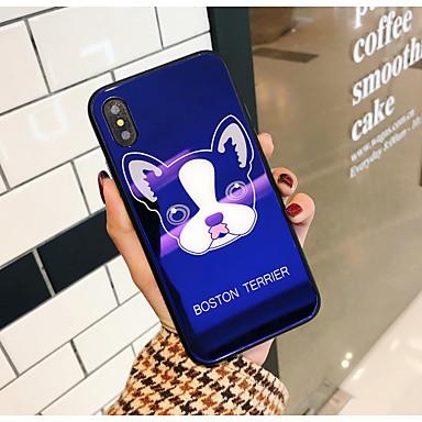 Cartoni cagnolino Per iPhone 8 animati urti agli Fantasia X Resistente Custodia retro Vetro Per Con Apple Resistente 06609867 disegno iPhone w1Znp6Pq