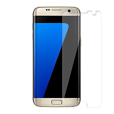 Protetor de Tela Samsung Galaxy para S7 edge Vidro Temperado 1 Pça. Protetor de Tela Frontal Resistente a Riscos Dureza 9H