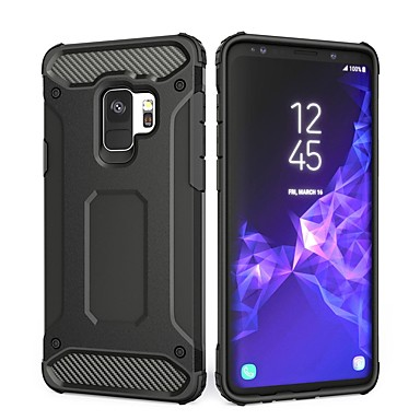 Case For Samsung Galaxy S9 Plus / S9 Shockproof Back Cover Solid Colored Hard PC for S9 / S9 Plus / S8 Plus