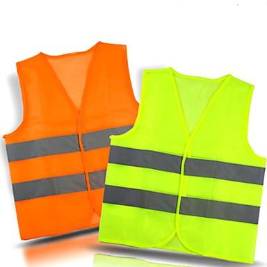 voordelige Noodgereedschap-veiligheidsvest met reflecterend hemd met reflecterend profiel, reflecterend vest van polyester mesh stof voor motorfietsen