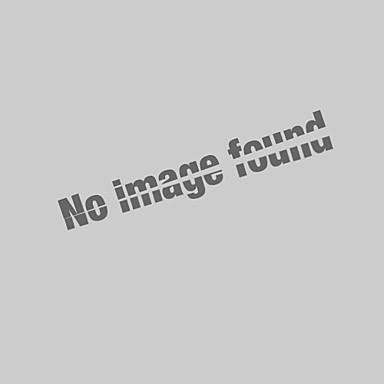 povoljno Moderna odjeća za muškarce-Veći konfekcijski brojevi Polo Muškarci - Osnovni Dnevno Pamuk Jednobojni / Životinja Kragna košulje Vezeno Bijela XL / Kratkih rukava