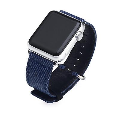 Недорогие Ремешки для Apple Watch-Ремешок для часов для Apple Watch Series 4/3/2/1 Apple Классическая застежка Материал / Натуральная кожа Повязка на запястье