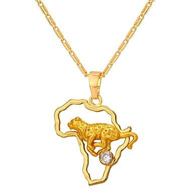billige Mode Halskæde-Kvadratisk Zirconium Halskædevedhæng Damer Mode Guld Sølv 55 cm Halskæder Smykker Til Daglig