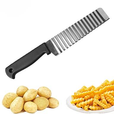Oțel inoxidabil Unlete de Tăiat Ustensile pentru Fructe & Legume Bucătărie Gadget creativ Instrumente pentru ustensile de bucătărie Cartof Morcov Castravete 1 buc