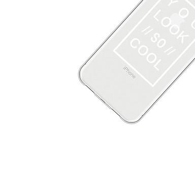 Apple per retro disegno 8 Acrilico X Morbido Per Cartoni Frasi animati Custodia iPhone iPhone iPhone Fantasia X famose 06707984 Per Plus wv5nT8