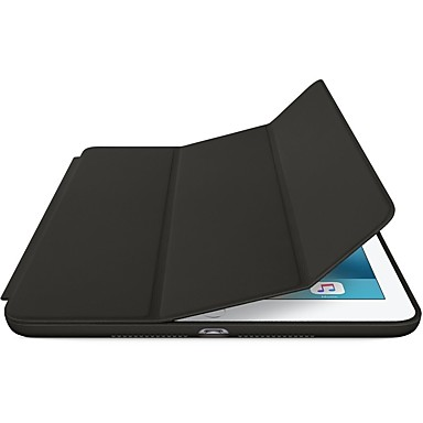Case For Apple iPad (2018) / iPad Pro 10.5 with Stand / Origami / Magnetic Full Body Cases Solid Colored Hard PU Leather for iPad Air / iPad 4/3/2 / iPad (2018) / iPad (2017)