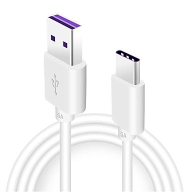 halpa Kaapelit ja adapterit-C-tyypin Kaapeli 1m-1.99m / 3ft-6ft pikalataus TPE USB-kaapelisovitin Käyttötarkoitus Samsung / Huawei / LG