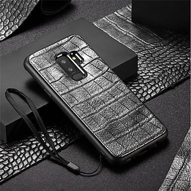 voordelige Galaxy S-serie hoesjes / covers-hoesje Voor Samsung Galaxy S9 / S9 Plus Reliëfopdruk Achterkant Effen Zacht TPU