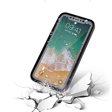 Plus 8 8 Apple Integrale iPhone Impermeabile TPU unita iPhone iPhone per iPhone X Per 06715238 X Custodia iPhone 8 Plus Tinta Morbido BR4nY
