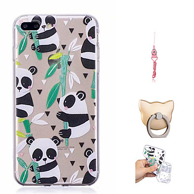 iPhone X 8 Plus iPhone Per X 8 Custodia Morbido 8 retro iPhone Per disegno iPhone per Fantasia Panda Plus iPhone 06698636 TPU Apple xqwfntgR