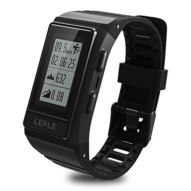 BoZhuo 909Plus رجالي سوار الذكية Android iOS بلوتوث GPS ضد الماء رصد معدل ضربات القلب رمادي داكن إسبات الطويل المشي عداد الخطى تذكرة بالاتصال متتبع النشاط متتبع النوم / أجد هاتفي / ساعة منبهة