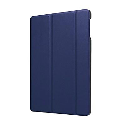 Etui Til Amazon Kindle Fire hd 8(7th Generation, 2017 Release) Med stativ / Ultratyndt Fuldt etui Ensfarvet Hårdt PU Læder for Kindle Fire hd 8(7th Generation, 2017 Release)