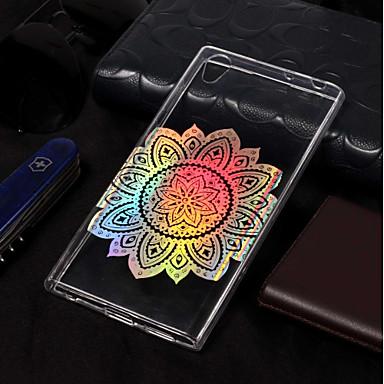 voordelige Hoesjes / covers voor Sony-hoesje Voor Sony Xperia L2 / Sony Xperia L1 Beplating / Patroon Achterkant Mandala Zacht TPU