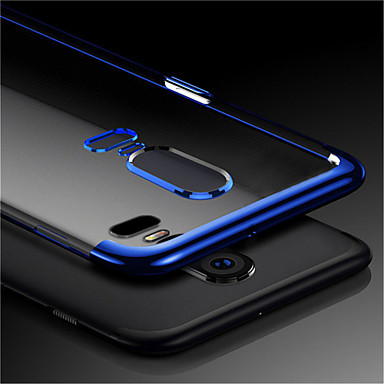innovative design ce680 081d5 Case For OnePlus OnePlus 6 / OnePlus 5T Transparent Back Cover Solid  Colored Soft TPU