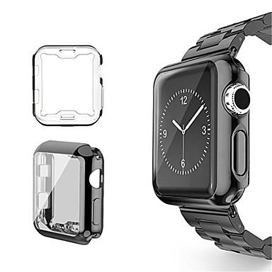 Недорогие Кейсы для Apple Watch-Кейс для Назначение Apple Apple Watch Series 3 / 2 / 1 Силикон Apple
