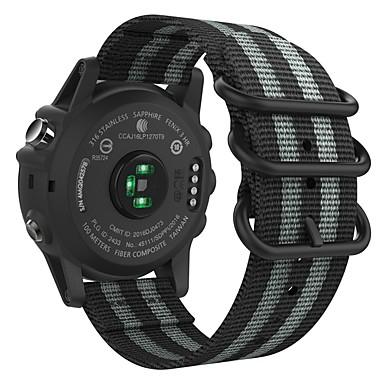 voordelige Smartwatch-accessoires-Horlogeband voor Fenix 5x / Fenix 3 HR / Fenix 3 Garmin Sportband Nylon Polsband