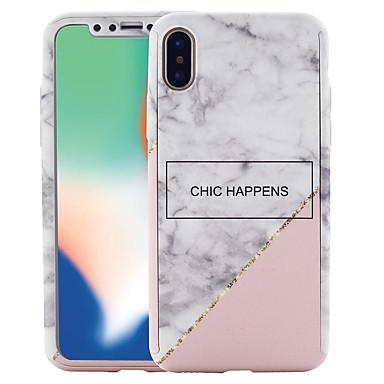 iPhone iPhone Plus PC Resistente 8 Custodia Integrale iPhone per marmo Effetto disegno Per 06749207 Fantasia X 8 8 Apple X iPhone iPhone q67HwUSq